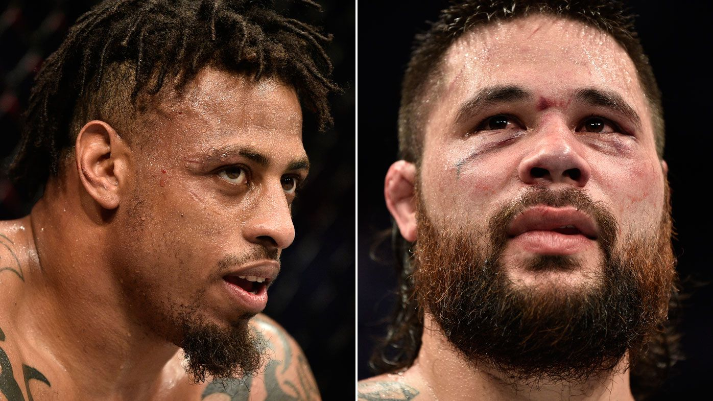 Aussie-based heavyweight Ben Sosoli shared octagon with the UFC's most hated man