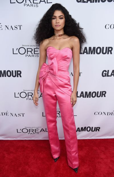 Zendaya in Viktor & Rolf at the Glamour Women of the Year Awards, November 13.