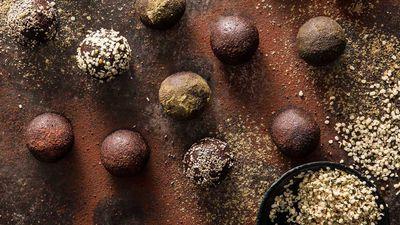 Cacao & Hemp Protein Balls
