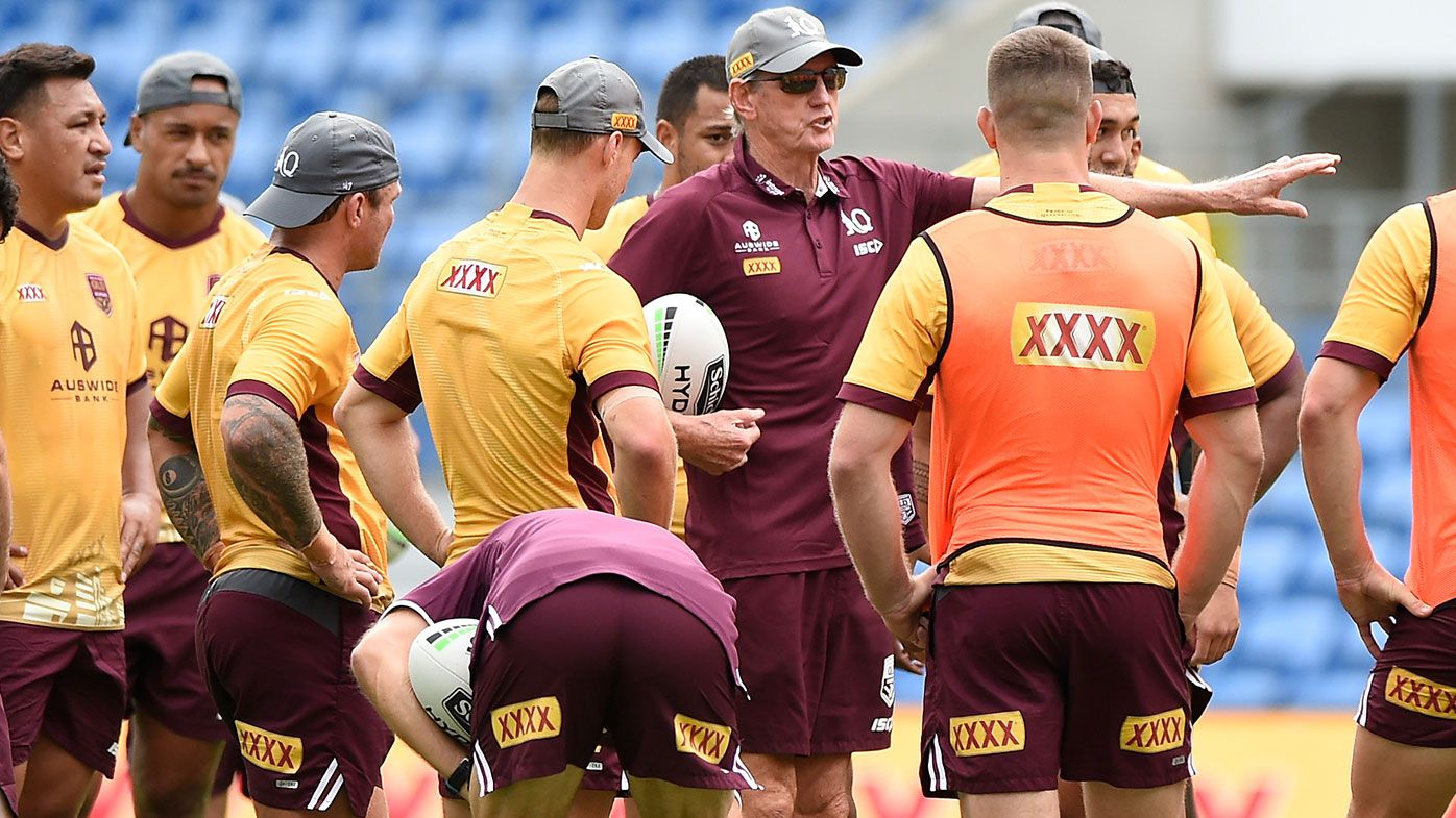 Queensland Maroons Training Session