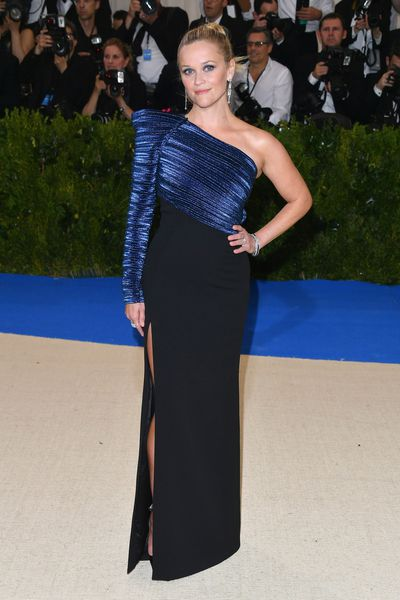 Reese Witherspoon in Thierry Mugler at the 2017 Met Gala,Rei Kawakubo/Comme des Garcons: Art Of The In-Between