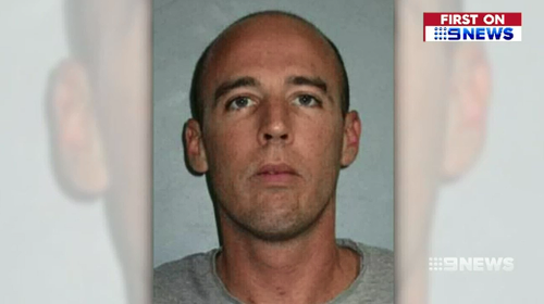 David Perry was wanted over an alleged attempted murder in St Kilda yesterday.