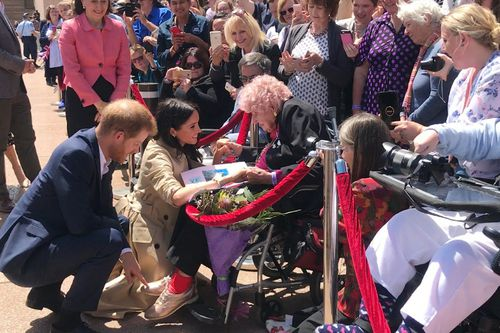 """""""She's so beautiful,"""" said Ms Dunne of the duchess."""