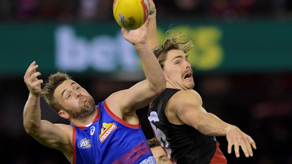 Essendon and the Western Bulldogs would have met if a wildcard weekend was held in 2017. (AAP)