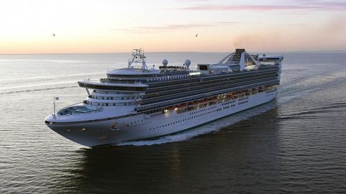 US man overboard off Sydney-bound cruise ship