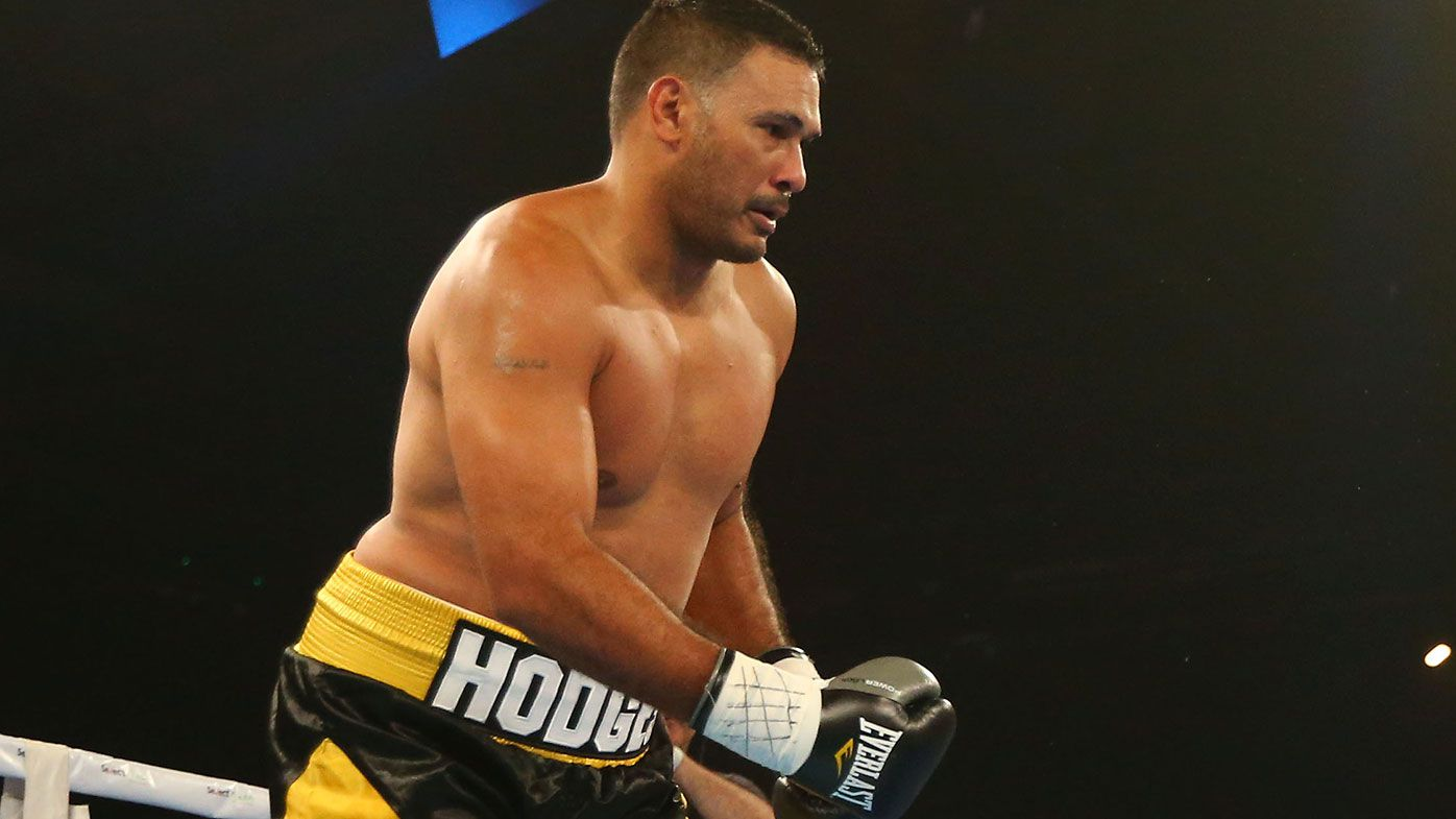 Boxing Justin Hodges vs Darcy Lussick: Hodges sends ...