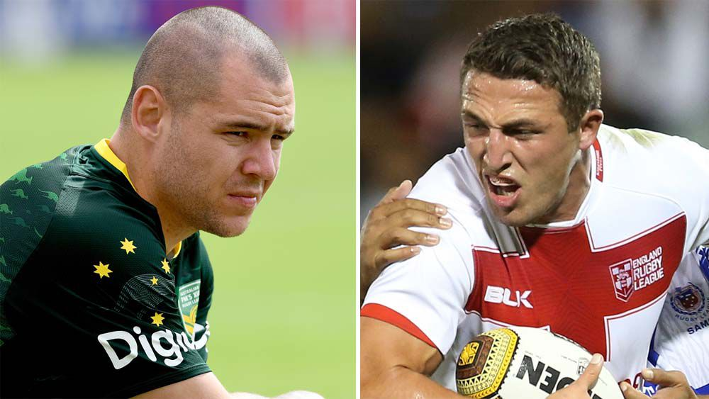 David Klemmer and Sam Burgess