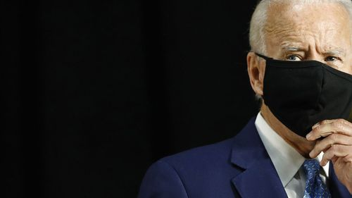 Joe Biden is presenting himself as a safe, dignified alternative to Donald Trump.