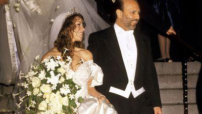 Mariah Carey and Tommy Matola