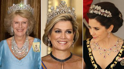 The grandest diamond jewels in royal family collections around the world