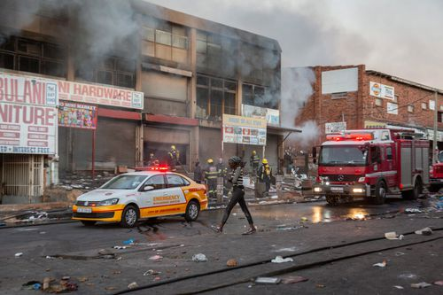 Rioting has broken out across South Africa following the imprisonment of former President Jacob Zuma.