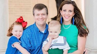 Kelley Simoneaux and her family