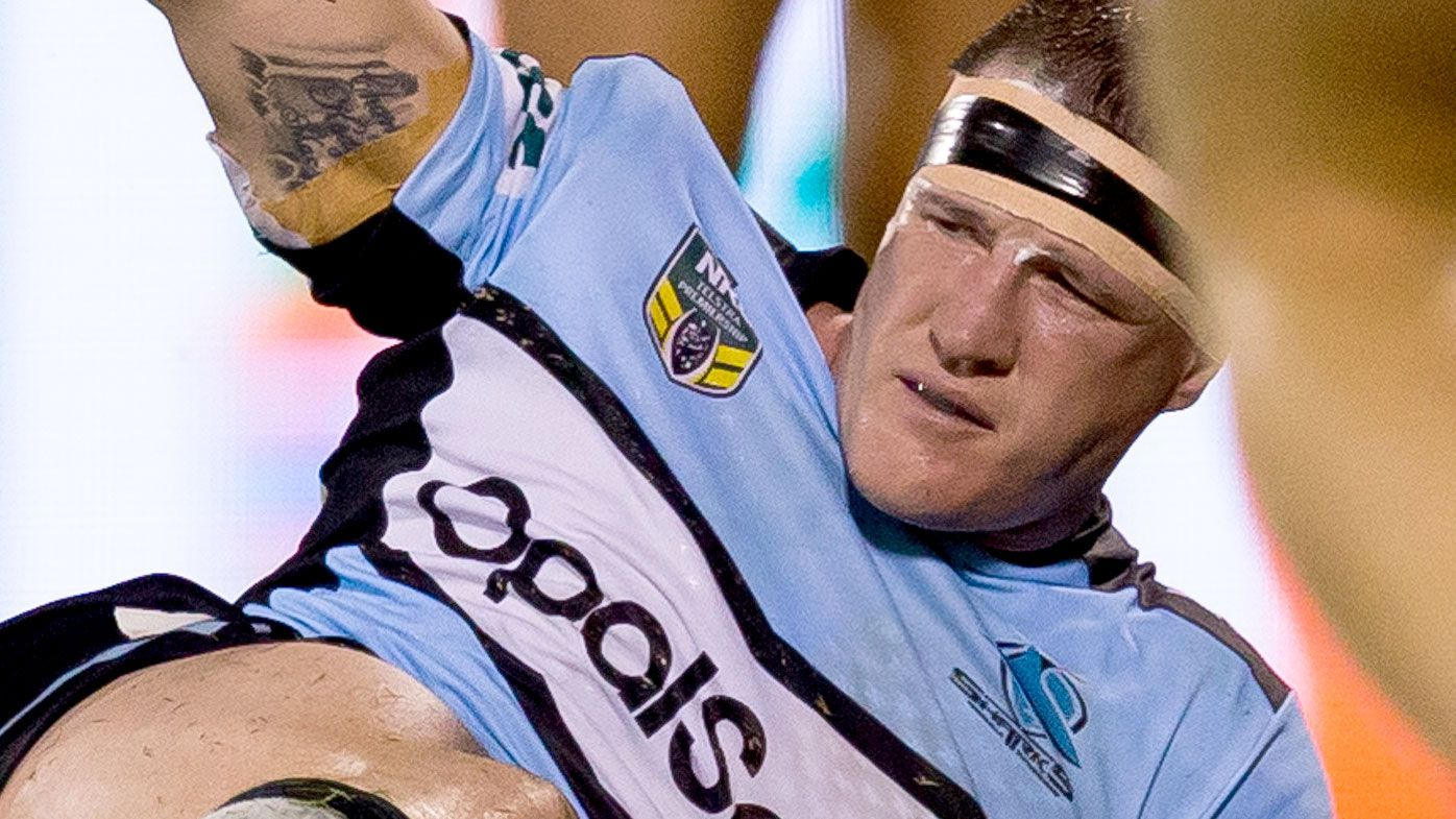 Cronulla Sharks captain Paul Gallen to miss up to six NRL games with knee injury