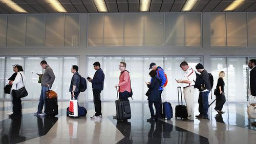 After a five-hour delay, the Newman family (not pictured) weren't allowed to board their flight. Photo: Getty Images
