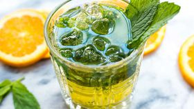 Refreshing mint cocktail