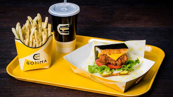 Gojima's signature rice burger