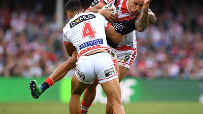 Dragons out to half-time lead over Roosters