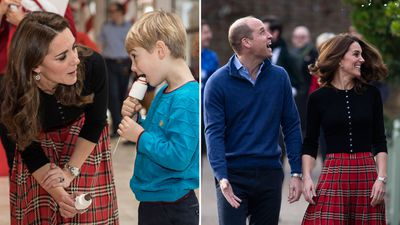 Duke and Duchess of Cambridge host a party for military families, December 2018