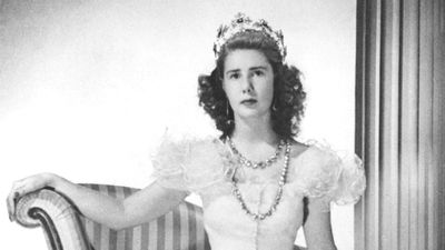 Cayetana pictured in her youth in 1947 as the Duchess of Montoro. (Getty)