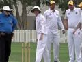 'Players and umpires say they've never seen anything like it!'