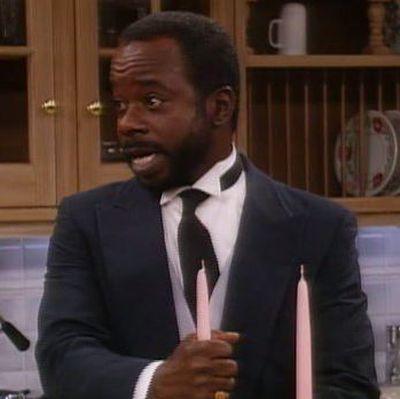 Joseph Marcell as Geoffrey Butler: Then