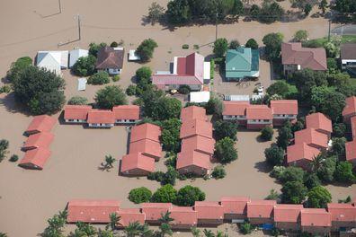 Thousands of homes left underwater