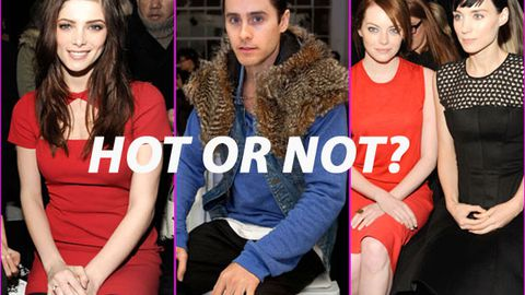 Rate the pics! Celebrities at New York Fashion Week