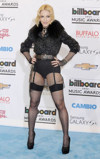 Madonna inGivenchy Haute Couture by Riccardo Tisci at the 2013 Billboard Awards in Las Vegas