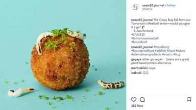 IKEA's new meatball: Made entirely of meal worms