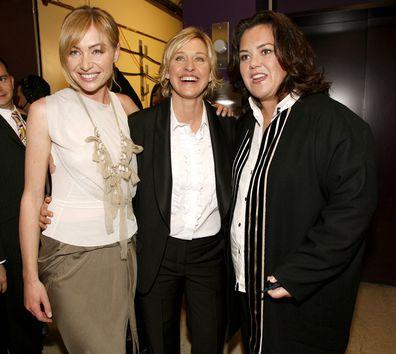 Portia de Rossi, Ellen DeGeneres, Rosie O'Donnell, 33rd Annual Daytime Emmy Awards, 2006