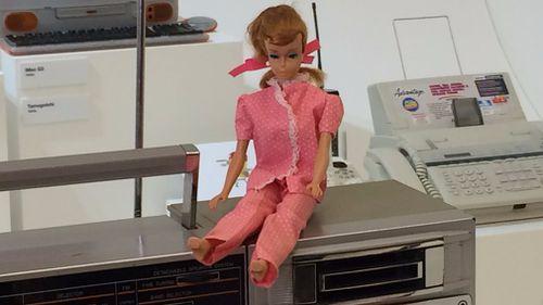 Pauline Renzow's beloved vintage Barbie doll.
