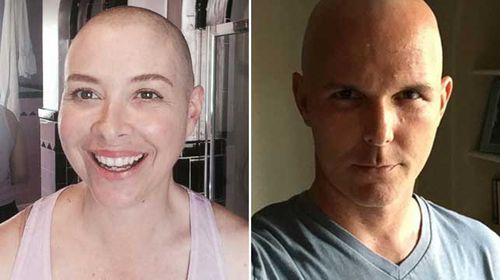 The couple are now undergoing chemo together. (Supplied)