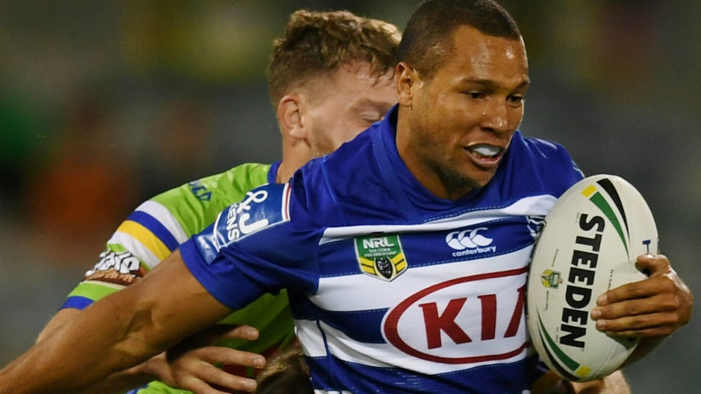 Moses Mbye of the Bulldogs