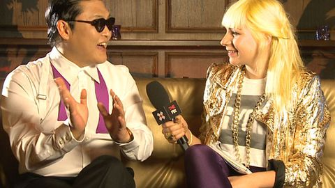 Psy's totally getting sick of the 'Gangnam Style' dance
