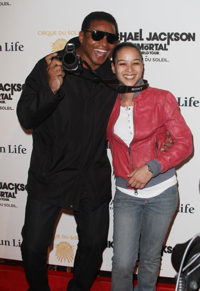 Jackie Jackson and Brandi Jackson