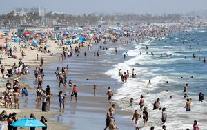 LA hits highest-ever temperature during scorching heatwave