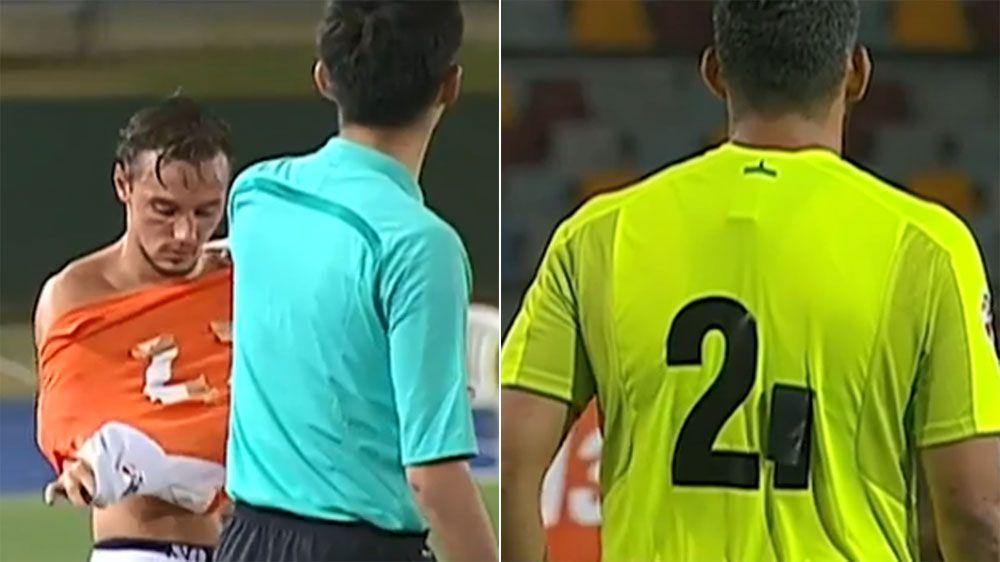 Jersey farce mars Brisbane Roar's ACL loss to Filipino side