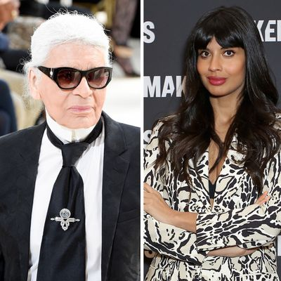 That time Jamil called out late designer Karl Lagerfeld for being a 'misogynist'