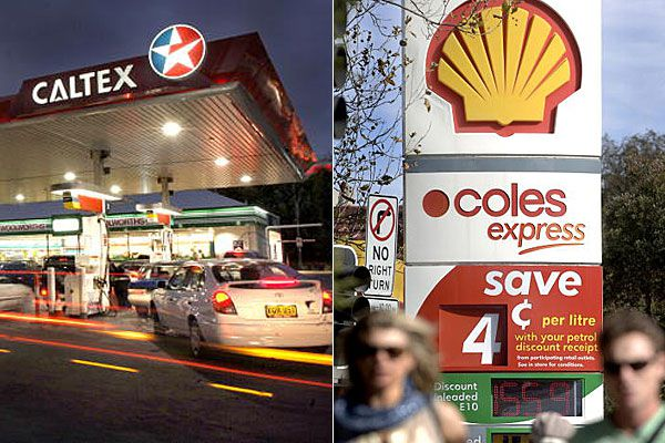 Coles and Woolworth fuel