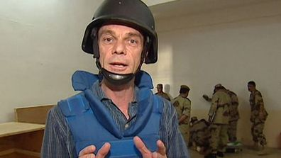 Robert Penfold on assignment in a war zone