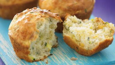 "Recipe: <a href=""http://kitchen.nine.com.au/2016/05/13/11/25/zucchini-and-corn-muffins"" target=""_top"">Zucchini and corn muffins</a>"