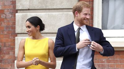 The Sussexes at the 'Your Commonwealth' Youth Challenge reception, 5 July 2018