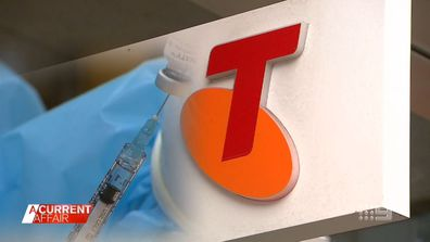 Corporate businesses discuss their involvement in Australia's vaccine rollout.