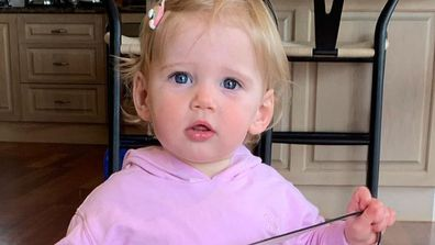Karl Stefanovic shares cute photo of daughter Harper.