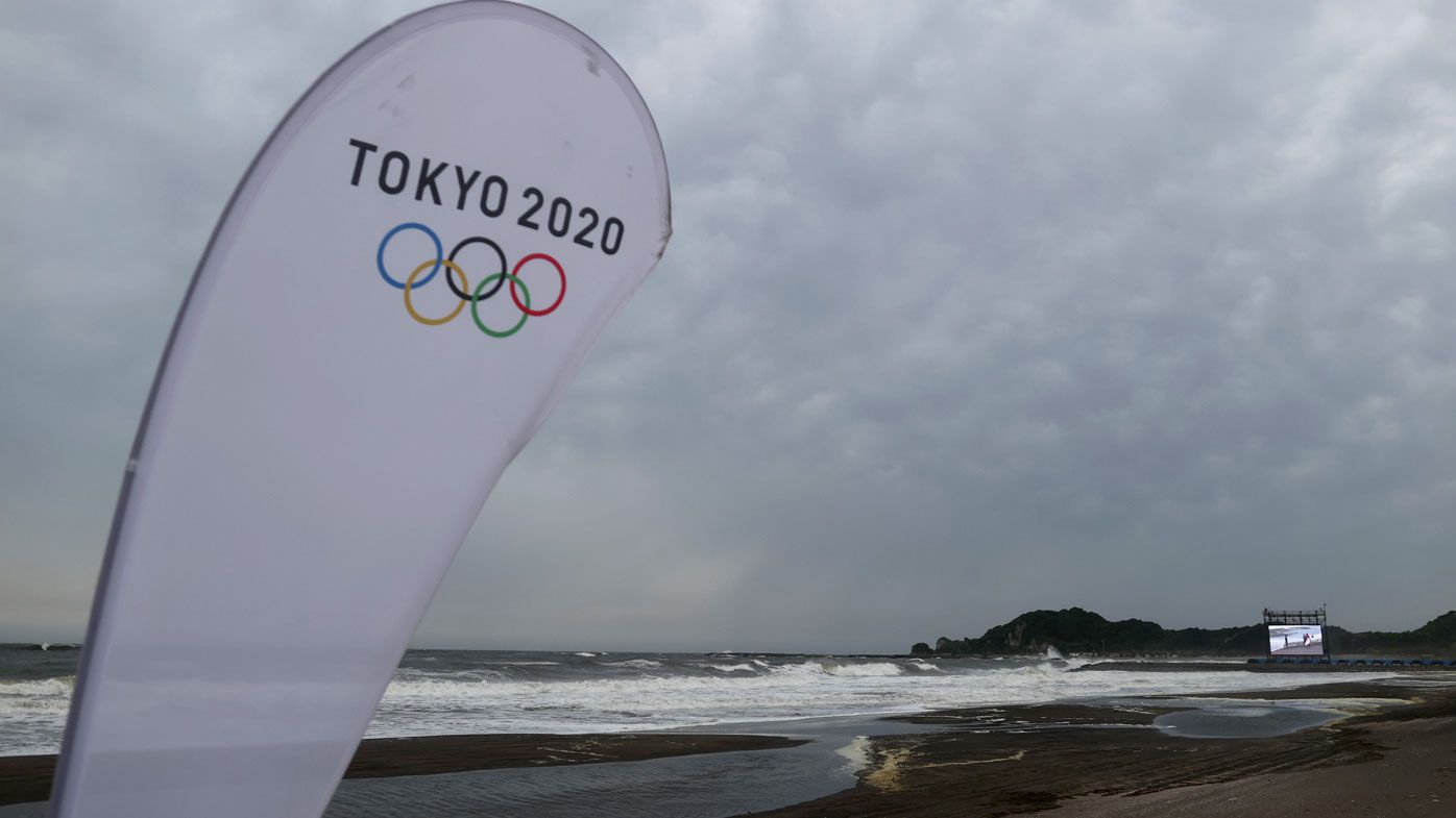 A Typhoon is expected to hit the Tokyo Games.