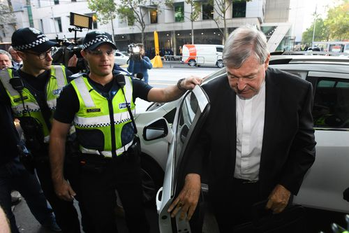 Pell is not allowed to leave Australia.