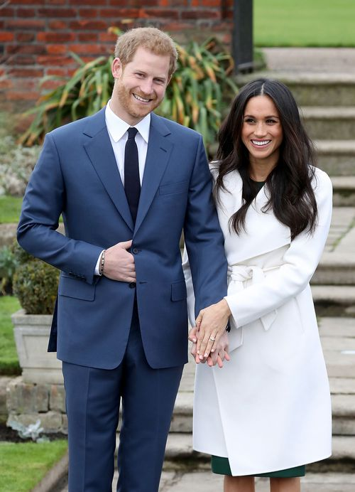 Prince Harry and Meghan Markle will have a lemon elderflower cake at their wedding. (PA/AAP)