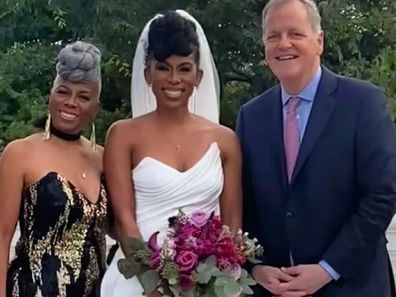 Doug Parker as a guest at Southwest Airlines flight attendant JacqueRae Sullivan's wedding.