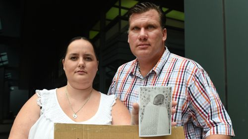 Sarah and Peter Milosevic have campaigned for Sophie's Law. (AAP file image)