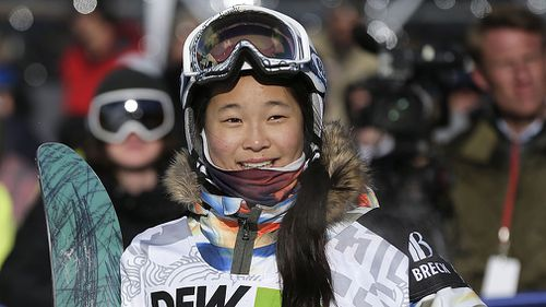17-year-old Chloe Kim is expected to top Australia's Torah Bright when she hits the Half Pipe (AAP).